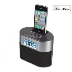 Radio budzik iP230 + Słuchawki MDR-ZX100 czarne...