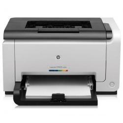 Kolorowa drukarka laserowa LaserJet Pro CP1025 + Toner 126A (CE311A) cyjan + kartridż tuszu HP Color LaserJet 126A (CE312A) żółt...