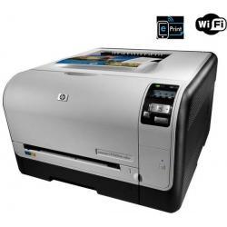 Wielofunkcyjna sieciowa kolorowa drukarka Laserjet Pro CP1525nw + bezprzewodowa + Toner HP LaserJet 128A (CE321A)  cyjan + Toner...
