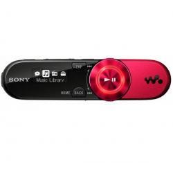 Odtwarzacz MP3 Walkman NWZ-B162F - 2 GB czerwony + Słuchawki stereo dzwiek digital(CS01) + Ładowarka USB biała...