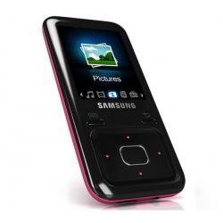 Odtwarzacz MP4 FM YP-Z3 4 GB różowy + Słuchawki douszne MDR-EX50LP czarne + Łącznik do gniazda jack 3.5 mm...