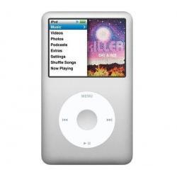 iPod classic 160 GB kolor srebrny (MC293QB/A) - NEW + Uniwersalna ładowarka IUSBTC10 + Etui iSELECT czarny...