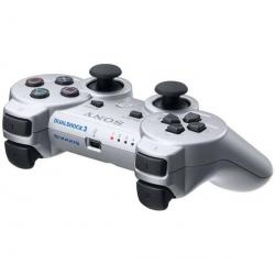 Gamepad DualShock 3 srebrny [PlayStation 3] + Gamepad DualShock 3 niebieski [PlayStation 3]...