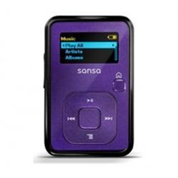 Odtwarzacz MP3 Sansa Clip+ 4 GB fioletowy + Słuchawki PX 30...