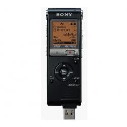 Dyktafon cyfrowy ICD-UX512B 2 GB czarny + Mikrofon z zaciskiem ECMCS3...