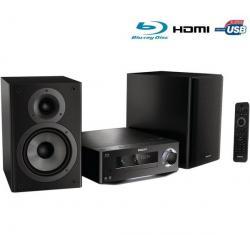 Mini wieża Blu-ray/MP3/USB Harmony MBD7020/12 + Kabel audio stereo jack męski/męski  (1,2 m)...
