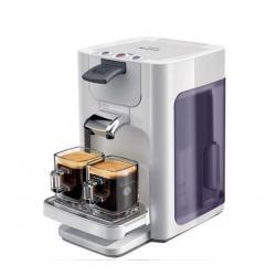 Ekspres do kawy Senseo Quadrante Biały Infini HD7860/11 + Odkamieniacz Senseo HD7012/00 na 12 miesięcy...