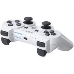 Gamepad DualShock 3 biały [PlayStation3] + Gamepad DualShock 3 niebieski [PlayStation 3]...