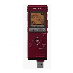 Dyktafon cyfrowy ICD-UX512R 2 GB czerwony + Mikrofon z zaciskiem ECMCS3...