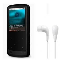 Odtwarzacz MP4 iAudio i9 16 GB czarny + słuchawki CE-1 + Uniwersalna ładowarka IUSBTC10 + Słuchawki douszne MDR-EX50LP czarne...