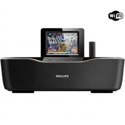 Bezprzewodowy odbiornik audio Streamium NP3700 + Bezprzewodowe słuchawki na podczerwień SHC2000/00...