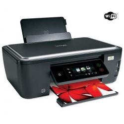 Wielofunkcyjna kolorowa drukarka atramentowa Interact S605 WiFi + Kabel USB A męski/B męski 1,80m + Ryza papieru Goodway - 80 g/...