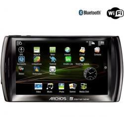 Tablet Internet Archos 5 - 16 GB + Uniwersalna ładowarka USB 2A + Karta pamięci Micro SD 4 GB z adapterem...