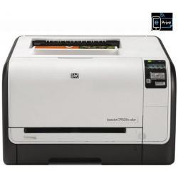 Sieciowa kolorowa drukarka laserowa LaserJet Pro CP1525n + Toner tuszu HP LaserJet 128A (CE320A) czarny + Kartridż tuszu 128A żó...