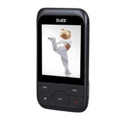 Odtwarzacz MP4 M450 FM 8 GB czarny + Słuchawki stereo dzwiek digital(CS01) + Ładowarka USB biała...