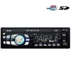 Radioodtwarzacz samochodowy MP3/USB/SD LAR-71 + Pamięć USB DataTraveler 108 - 8 GB...