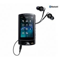 Odtwarzacz r MP4 FM NWZ-A864 8GB czarny + Kabel audio stereo jack męski/męski  (1,2 m) + Ładowarka USB biała...