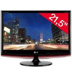 """M2262DP-PZ monitor LCD 21,5"""" Full HD z tunerem TV + Kabel HDMI 1.4 męski / HMDI męski - 2 m (MC380-2M)..."""