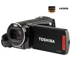 Kamera HD Camileo X400 + Karta pamięci SDHC 4 GB  + Etui MSEC-4K czarne...