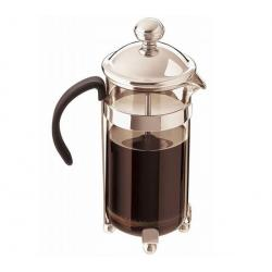 Tłokowy zaparzacz do kawy na 8 filiżanek - chromowy + Łyżka do dozowania...
