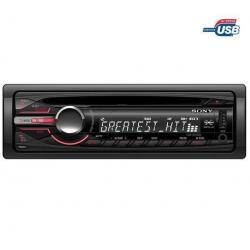 Radioodtwarzacz samochodowy CD/MP3/USB CDX-GT450U + Pokrowiec do panela radia samochodowego EFA100...