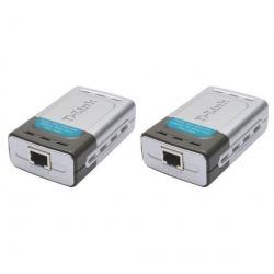 ródło prądu + rozdzielacz prądu w Ethernet DWL-P200...
