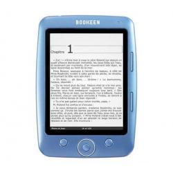 Czytnik ebooków Cybook Opus - niebieski +  120 książek gratis + Karta pamięci MicroSD 2 GB + adapter...