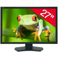 "MultiSync PA271W-BK monitor LCD 27"" Full HD + Kabel DVI-D męski do DVI-D męski - 3 metry - MC373-3M..."