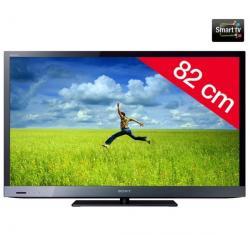 Telewizor LED KDL-32EX520 + Pozłacany 24-karatowy kabel HDMI-1,5 m - SWV3432S/10...