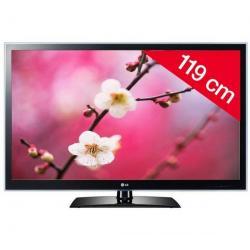 Telewizor LED 47LV4500 + Pozłacany 24-karatowy kabel HDMI-1,5 m - SWV3432S/10...