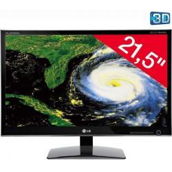 """D2242P-BN monitor LED 3D 21,5"""" Full HD + Kabel HDMI 1.4 męski / HMDI męski - 2 m (MC380-2M)..."""