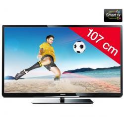Telewizor LED 42PFL4007H/12 + Pozłacany 24-karatowy kabel HDMI-1,5 m - SWV3432S/10...