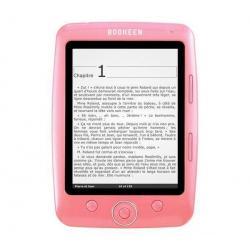 Czytnik e-booków Cybook Opus różowy + 120 książek gratis + Karta pamięci MicroSD 2 GB + adapter  + Etui Cybook Opus piaskowe...