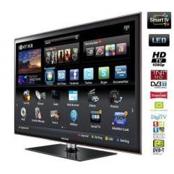 Telewizor LED Smart TV UE46D5700ZF + Stały uchwyt ścienny czarny...