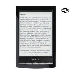 Czytnik ebooków PRS-T1 czarny + Pokrowiec z lampką PRS-ACL10 czarny + Uniwersalna ładowarka USB 2A...
