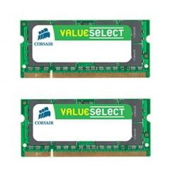 Pamięć do laptopa Value Select 2x 2 GB DDR2-800 PC2-6400 (VS4GSDSKIT800D2) + Zacisk na kable (zestaw 100) + Śruby do komputera...