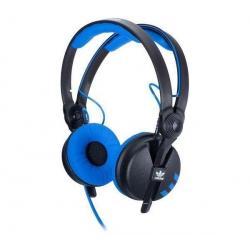 Słuchawki Adidas Originals HD 25-1-II - niebiesko-czarne + Kabel audio stereo z panelem kontrolnym 3 m...