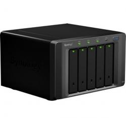 5-zatokowy system NAS  do zwiększenia pojemności DX510 do DS-710 - DS-1010 - DS-1511 + Kabel Ethernet RJ45 niebieski (kategoria ...