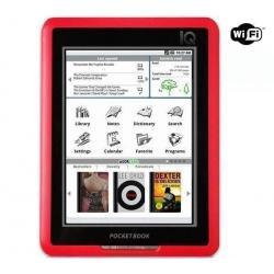 Czytnik e-booków PocketBook IQ 701 czerwony + Karta pamięci Micro SD HC 8 GB + adapter SD...