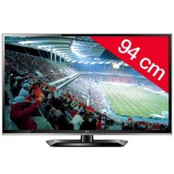 Telewizor LED 37LS5600 + Stały uchwyt ścienny czarny + Pozłacany 24-karatowy kabel HDMI-1,5 m - SWV3432S/10 + Listwa zakrywająca...