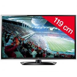 Telewizor LED 47LS5600 + Pozłacany 24-karatowy kabel HDMI-1,5 m - SWV3432S/10 + Listwa zakrywająca kable STILE Line Cover Double...