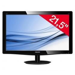 "E-line 226V3LAB monitor LED 21,5"" Full HD + Kabel DVI-D męski do DVI-D męski - 3 metry - MC373-3M..."