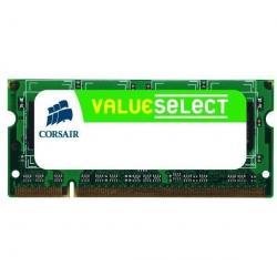 Przenośna pamięć Value Select SO-DIMM 2 GB DDR2 SDRAM PC5300 (VS2GSDS667D2) - dożywotnia gwarancja + Zacisk na kable (zestaw 100...