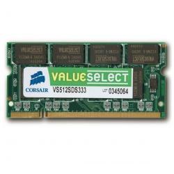 Pamięć Value Select SO-DIMM 1 Gb PC 2700 (VS1GSDS333)- 10letnia gwarancja + Zacisk na kable (zestaw 100) + Śruby do komputera...