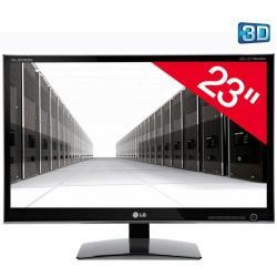 "D2342P-PN monitor LED 3D 23"" Full HD + Kabel HDMI 1.4 męski / HMDI męski - 2 m (MC380-2M)..."