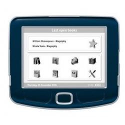 Czytnik ebooków 360° Plus dark blue + Karta pamięci Micro SD 4 GB z adapterem...