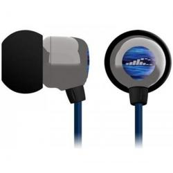Słuchawki waterproof Surge Pro Mini BA1-GY + Kabel audio stereo z panelem kontrolnym 3 m...