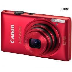 220 HS czerwony + Etui Pix Ultra Compact 9,5 x 2,7 x 6,5 cm + Karta pamięci SDHC 8 GB...