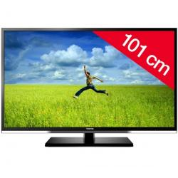 Telewizor LED 40RL933 + Stały uchwyt ścienny czarny + Pozłacany 24-karatowy kabel HDMI-1,5 m - SWV3432S/10 + Listwa zakrywająca ...