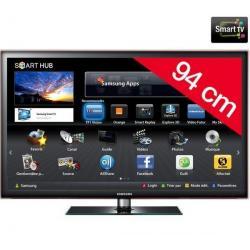 Telewizor LED Smart TV UE37D5700ZF + Stały uchwyt ścienny czarny...
